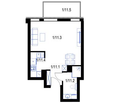 Mieszkanie11-parter-PrestigeAparts-Oswiecim