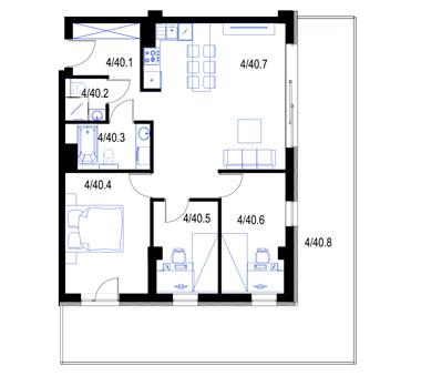 Mieszkanie40-pietro3-PrestigeAparts-Oswiecim