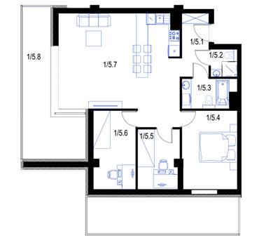 Mieszkanie5-parter-PrestigeAparts-Oswiecim