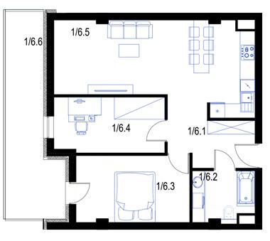 Mieszkanie6-parter-PrestigeAparts-Oswiecim