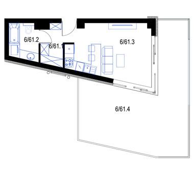 Mieszkanie61-pietro5-PrestigeAparts-Oswiecim