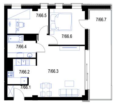 Mieszkanie66-pietro6-PrestigeAparts-Oswiecim