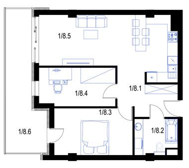 Mieszkanie8-parter-PrestigeAparts-Oswiecim